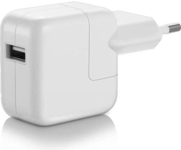 Apple cestovná USB nabíjačka MD836ZM/A 12W A1401 (Bulk)