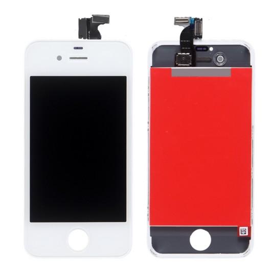 Apple Biely LCD displej s digitizérom pre iPhone 4S