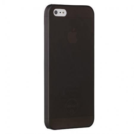 Matný ultratenký kryt iPhone 5/5S/SE čierny