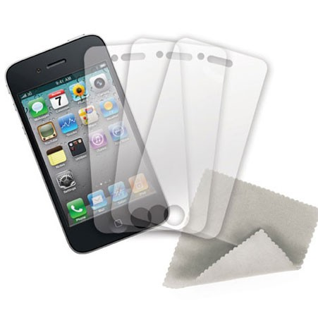 SuperPack! ShieldView Crystal Clear iPhone 4/4S
