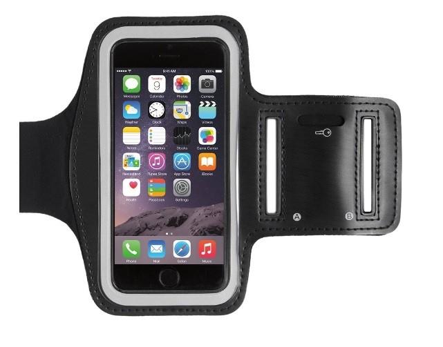 Armband - univerzálny držiak telefónu na ruku 5 ''- 6'' čierny