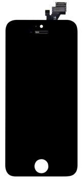 Čierny LCD displej iPhone 5C + dotyková doska OEM