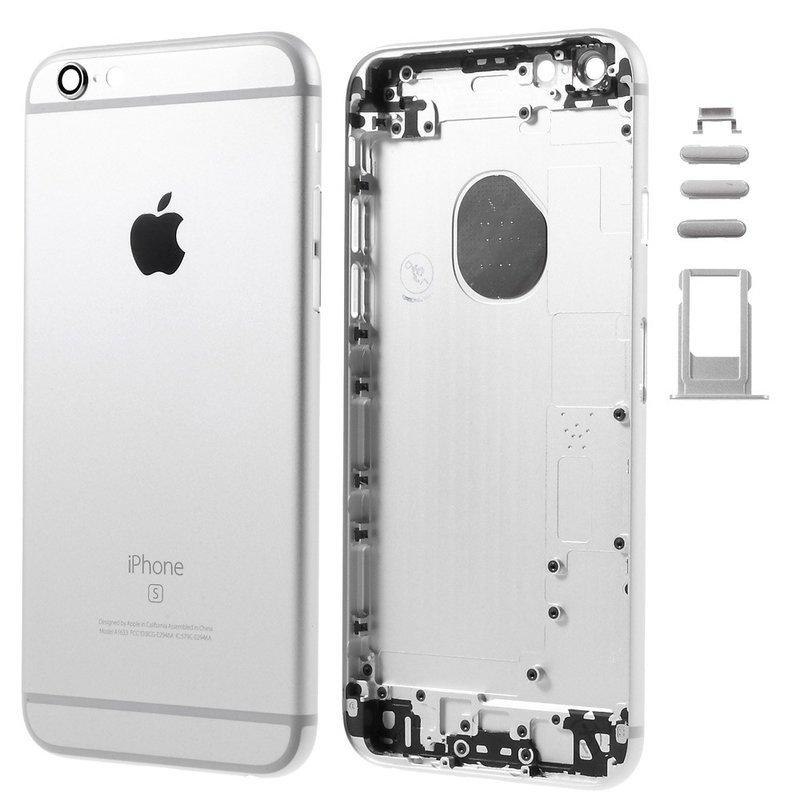 Apple Zadný kryt iPhone 6S silver - strieborný