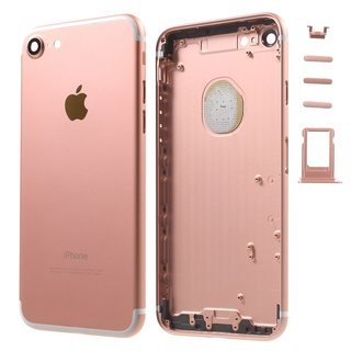Apple Zadný kryt iPhone 7 ružový/ rose gold