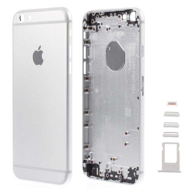 Apple Zadný kryt iPhone 6 silver - strieborný
