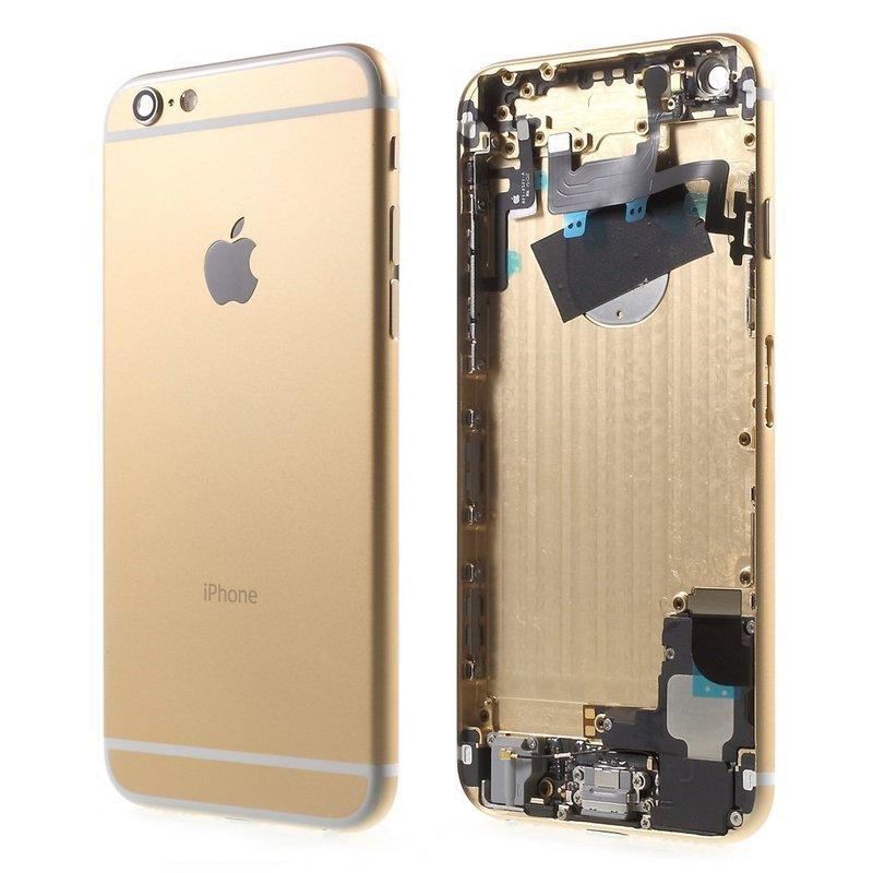 Apple Zadný kryt iPhone 6 Plus zlatý/ champagne gold s malými dielmi