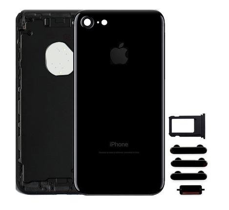 Apple Zadný kryt iPhone 7 čierny/ Jet Black