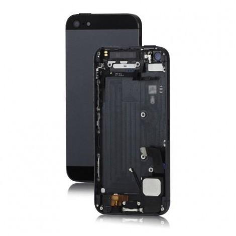 Apple iPhone 5 zadný kryt - čierny s malými dielmi