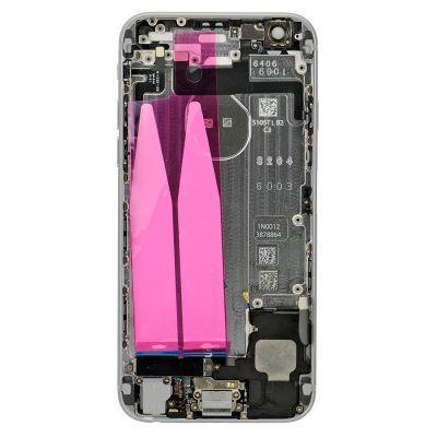 Apple Zadný kryt iPhone 6 strieborný/silver s malými dielmi