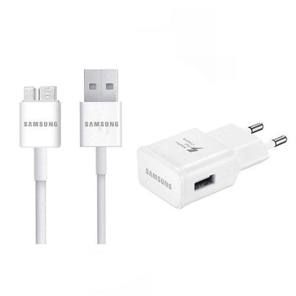 Rýchlonabíjačka Samsung EP-TA20EWE s USB DQ10Y0WE pre Samsung Galaxy S5 a Note 3, White
