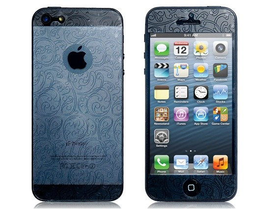 3D Floral Screen protector na iPhone 5/5S/SE