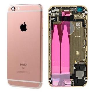 Apple Zadný kryt iPhone 6S rose gold s malými dielmi