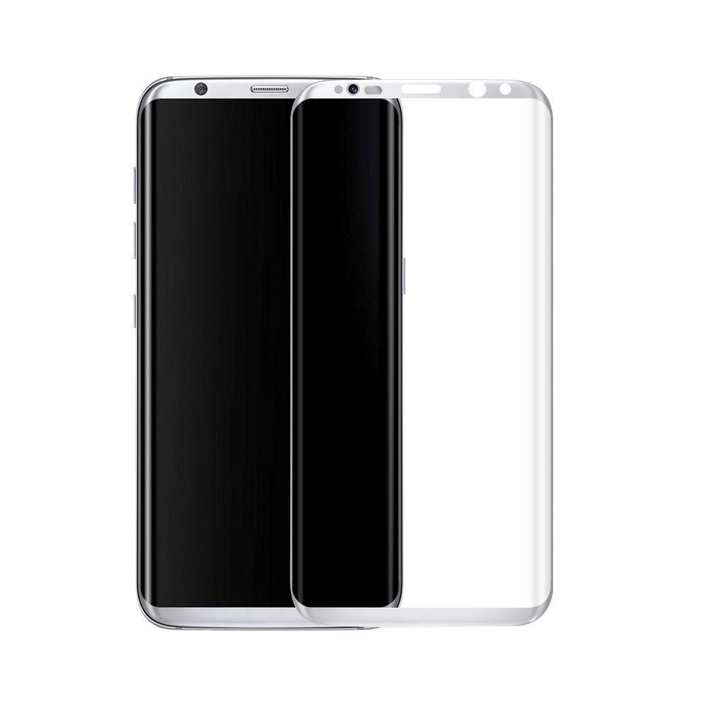 3D ochranné sklo - Full Face - Samsung Galaxy S8+ White