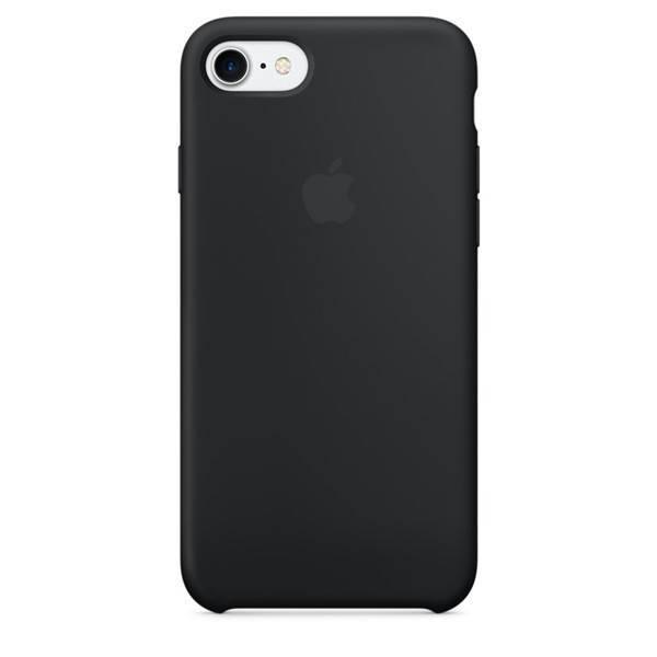 Apple iPhone 7/8/SE 2020 Silicone Case Black MMW82ZM/A