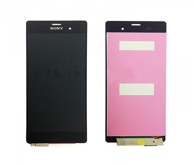 LCD displej + Dotyková doska Sony D6603 Xperia Z3 čierny