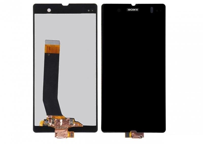 LCD displej + Dotykové sklo Sony Xperia Z čierny