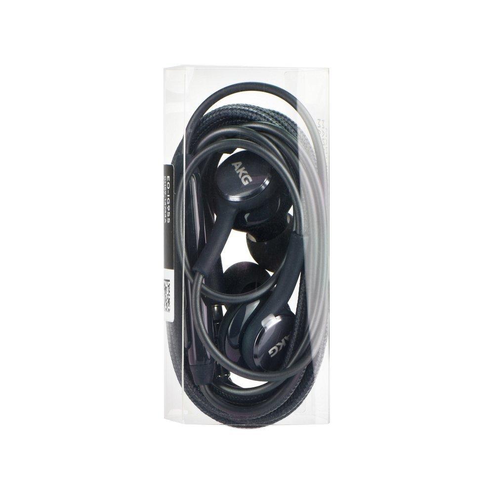 Stereo Slúchatká Samsung (AKG) EO-IG955B Galaxy S8/8+ 3.5 mm black bulk
