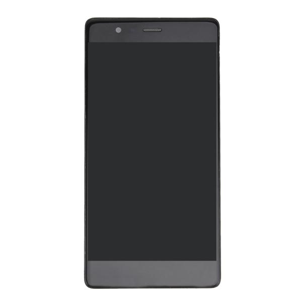 LCD displej + dotyková plocha pre Huawei P9 s rámom, Black