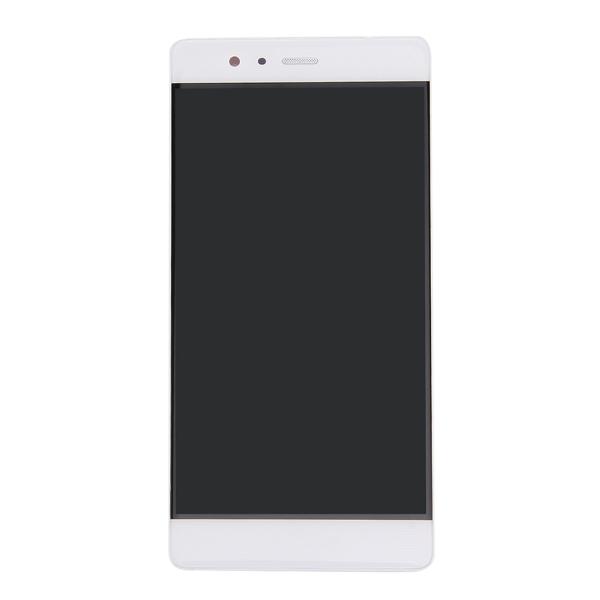 LCD displej + dotyková plocha pre Huawei P9 s rámom, White