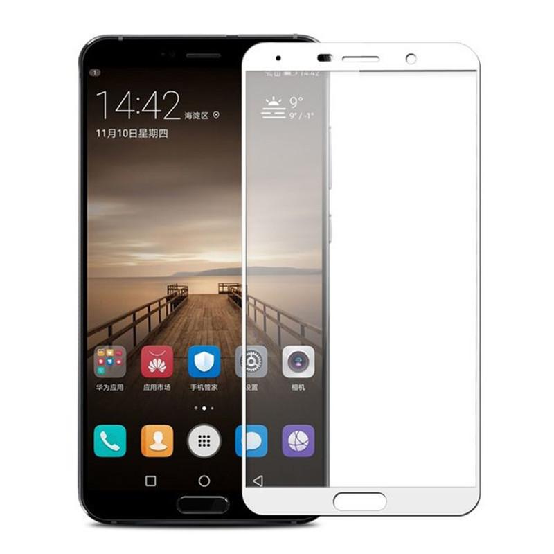 FULL GLUE 3D tvrdené ochranné sklo pre Huawei Y6 2017 - biele