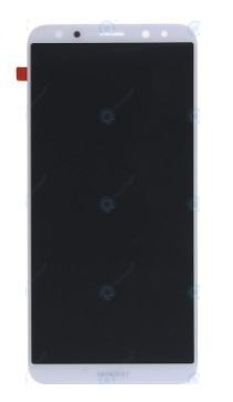 LCD displej + dotyková plocha pre Huawei Mate 10 Lite biely s rámom