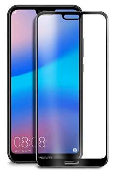 FULL GLUE 3D tvrdené ochranné sklo pre Huawei P20 - biele