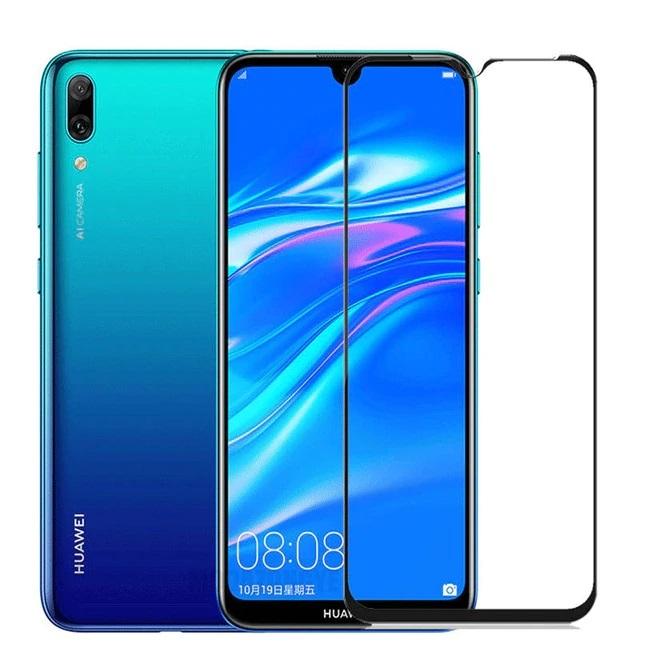 FULL GLUE 3D tvrdené ochranné sklo pre Huawei Y6 2019/ Y7 Pro 2019