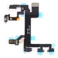 Apple iPhone 5C - Power button flex kábel pre tlačidlá ovládania hlasitosti, on-off