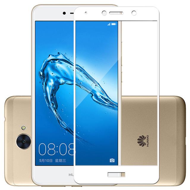 FULL GLUE 3D tvrdené ochranné sklo pre Huawei Y7 biele