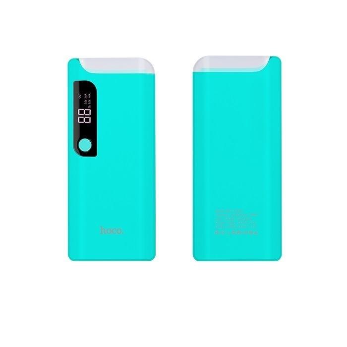 HOCO externá batéria - Power Bank - 15000 mAh PS B27 - modrý