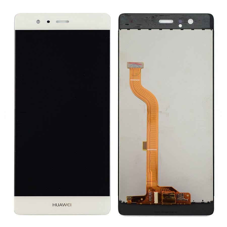 LCD displej + dotyková plocha pre Huawei P9 , White