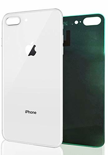 Apple iPhone 8 Plus - Zadné sklo housingu iPhone 8 Plus - biele