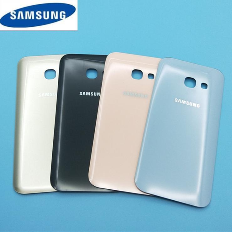 Samsung Galaxy A3 2017 A320 - Zadný kryt - biely