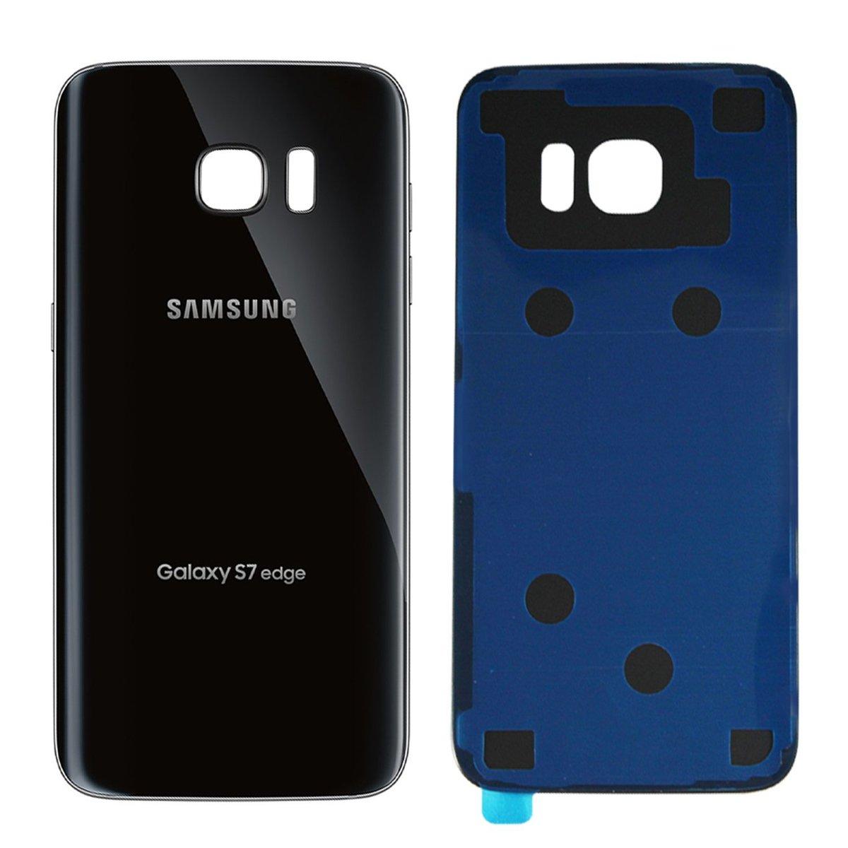 Samsung Galaxy S7 Edge - Zadný kryt - čierny