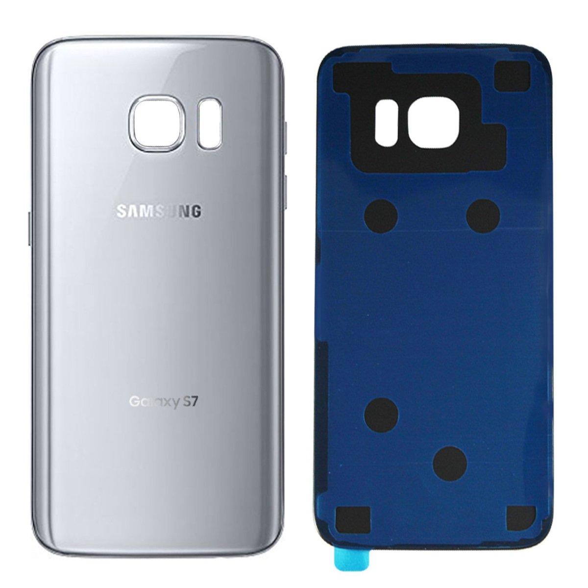 Samsung Galaxy S7 - Zadný kryt - strieborný
