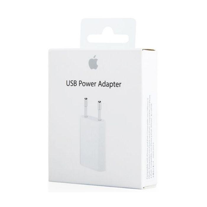 Apple MD813ZM/A (A1400) originálna cestovná USB nabíjačka - retail package box