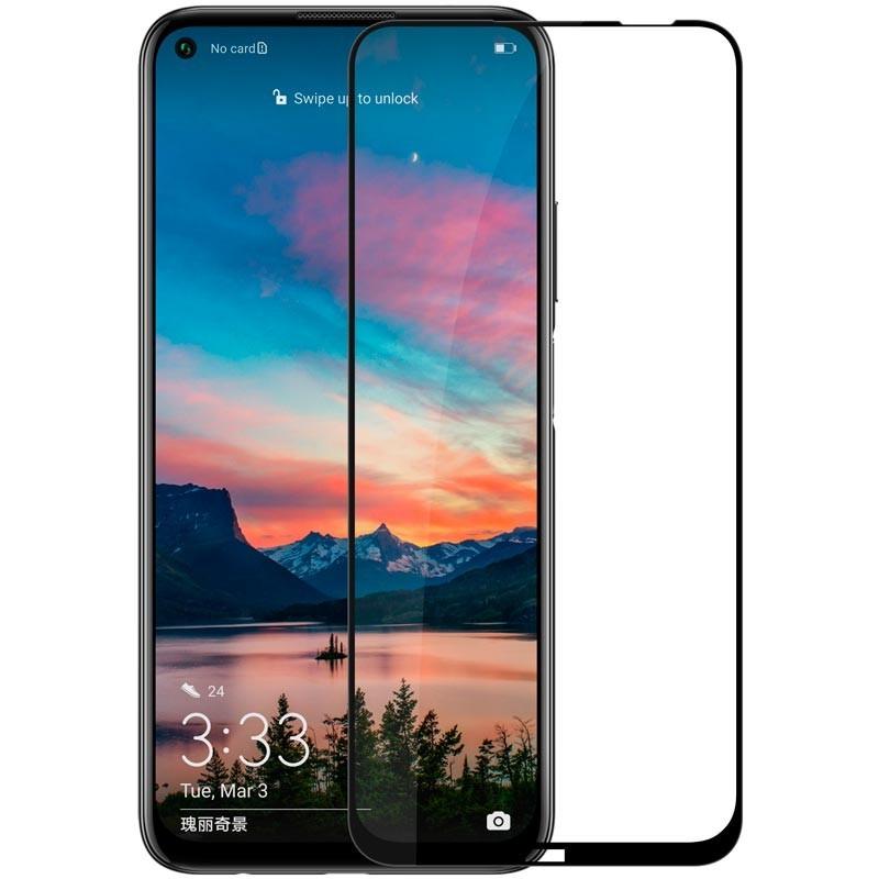 FULL GLUE 3D tvrdené ochranné sklo pre Huawei P40 Lite Black