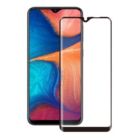 FULL GLUE 3D tvrdené ochranné sklo pre Samsung Galaxy a20e