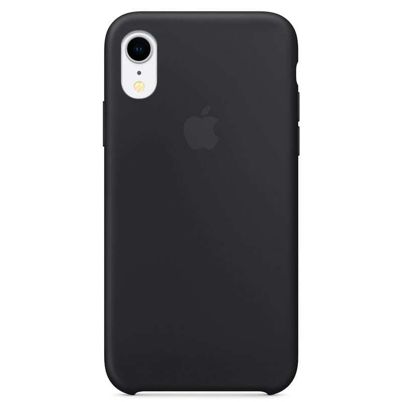 Apple iPhone XR Silicone Case - Black