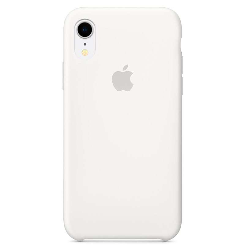 Apple iPhone XR Silicone Case - White