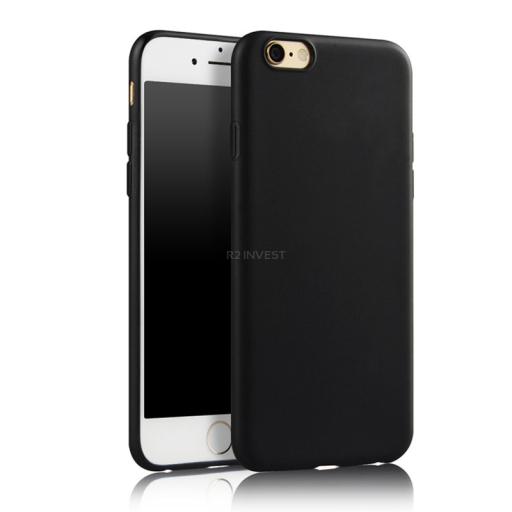 Matný čierny kryt iPhone 6/6S
