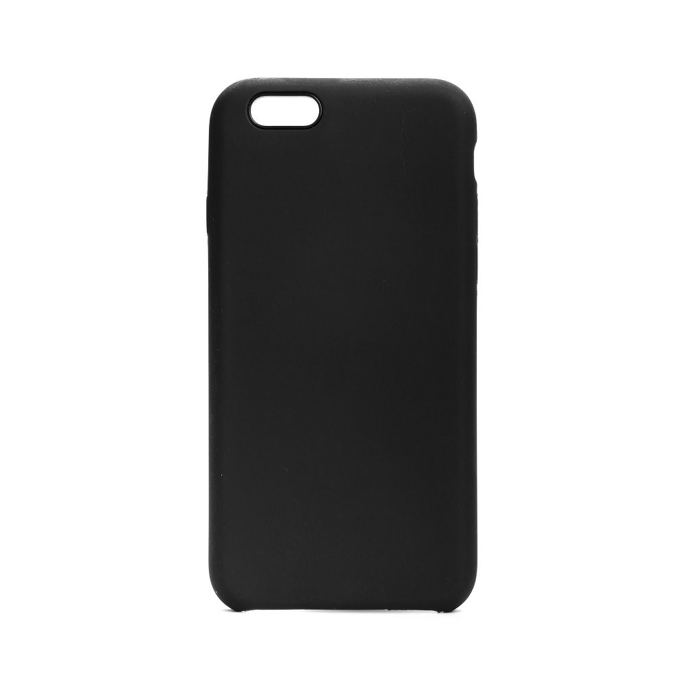 Forcell Silicone Case iPhone 6 / 6S čierny (without hole)