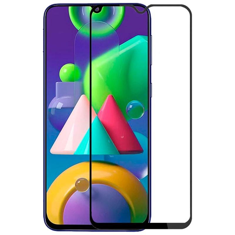FULL GLUE 3D glass - tvrdené ochranné sklo pre Samsung Galaxy M21