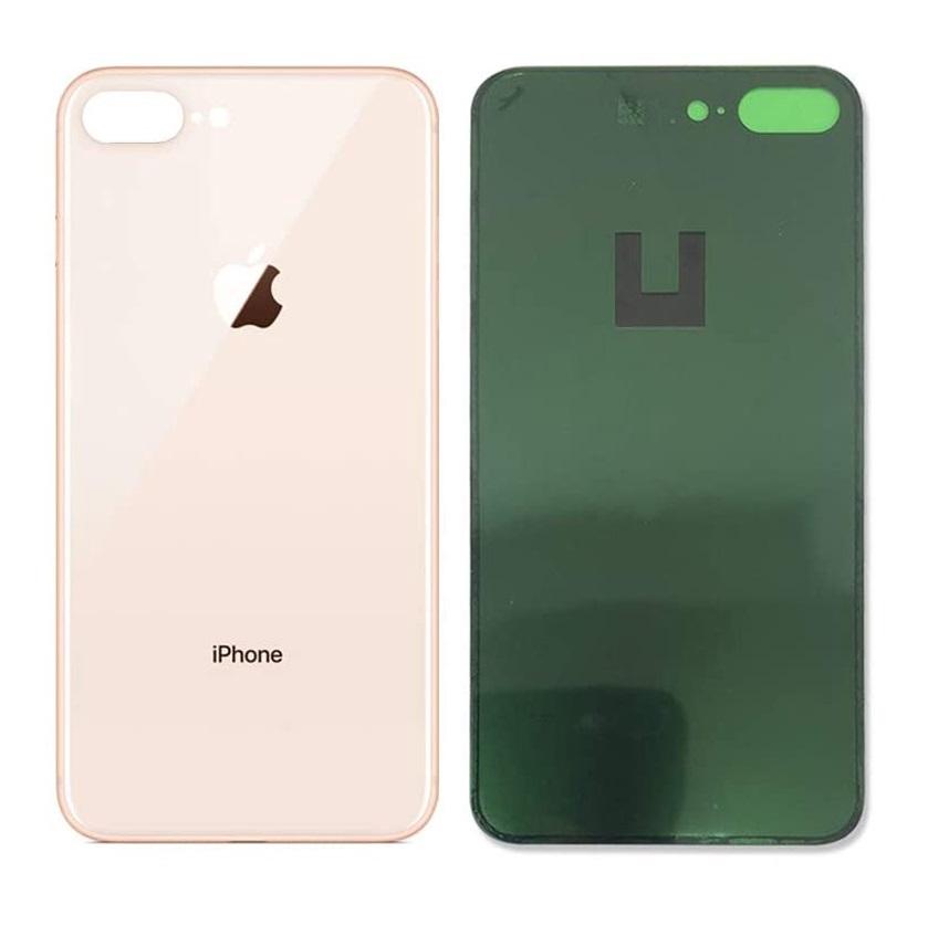 Apple iPhone 8 Plus - Zadné sklo housingu iPhone 8 Plus - zlaté