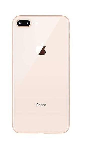 Apple iPhone 8 Plus - Zadné sklo housingu iPhone 8 Plus + sklíčko zadnej kamery - zlaté