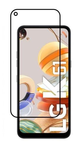FULL GLUE 3D tvrdené ochranné sklo pre LG K61