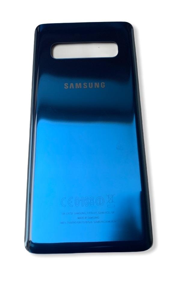Samsung Galaxy S10 Plus - Zadný kryt - modrý