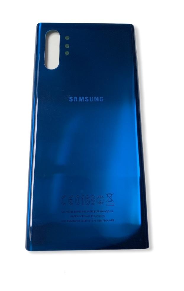 Samsung Galaxy Note 10 Plus - Zadný kryt - modrý