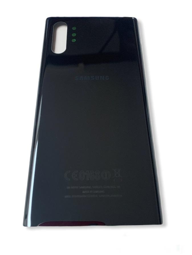 Samsung Galaxy Note 10 Plus - Zadný kryt - čierny