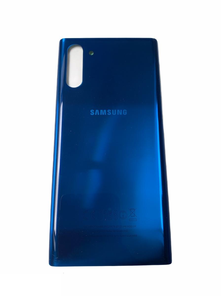 Samsung Galaxy Note 10 - Zadný kryt - modrý